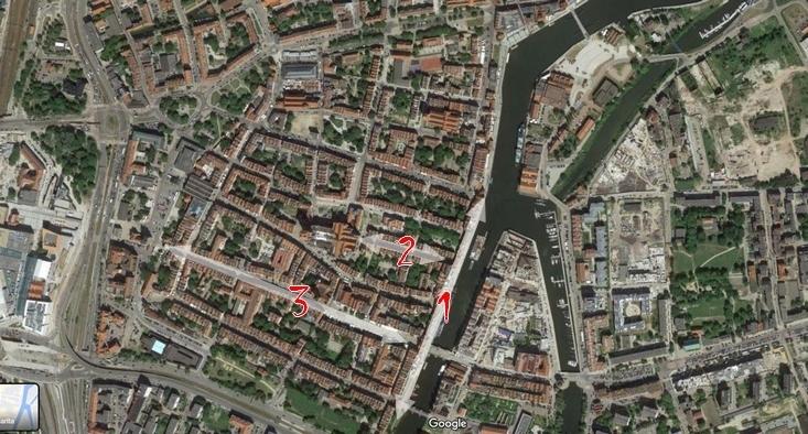polonya gdansk harita