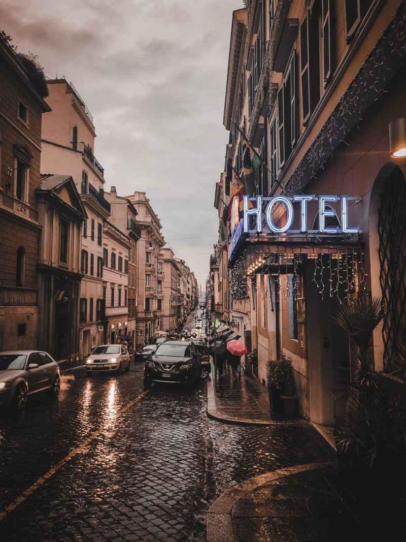 otel otoparkı
