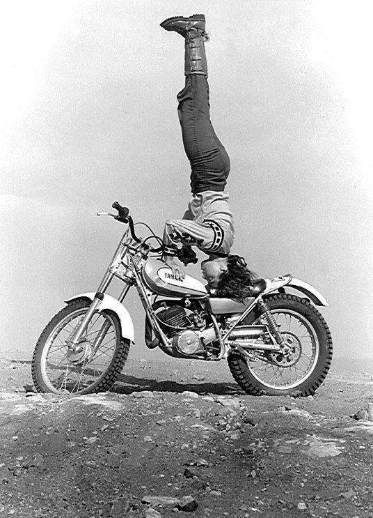 motorcu kadın efsane
