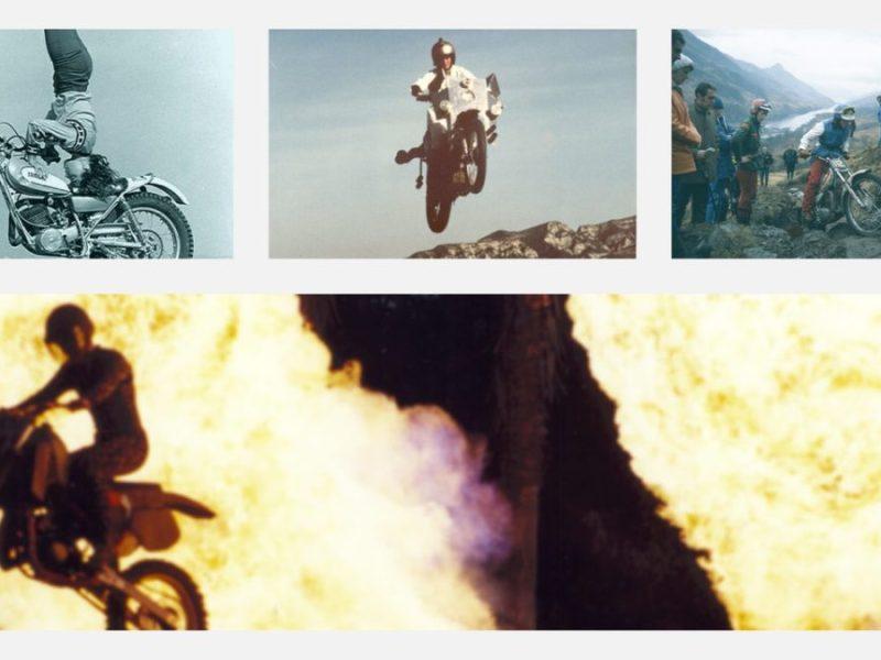 motosiklet stunt