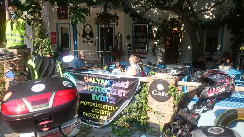 Moto Cafe Lee Dalyan - Nur Köseoğlu