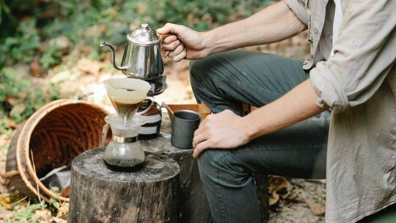 kamp alanı - kahvesiz olmaz