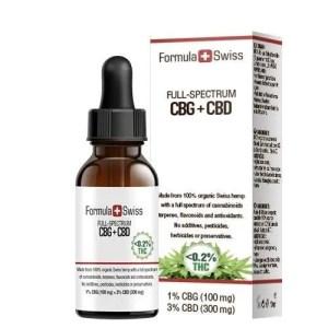 CBG+CBD olje ifra Formula swiss