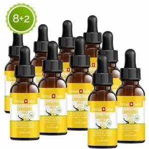 Formula Swiss 8+2 CBD olje i MCT Oil vanilje