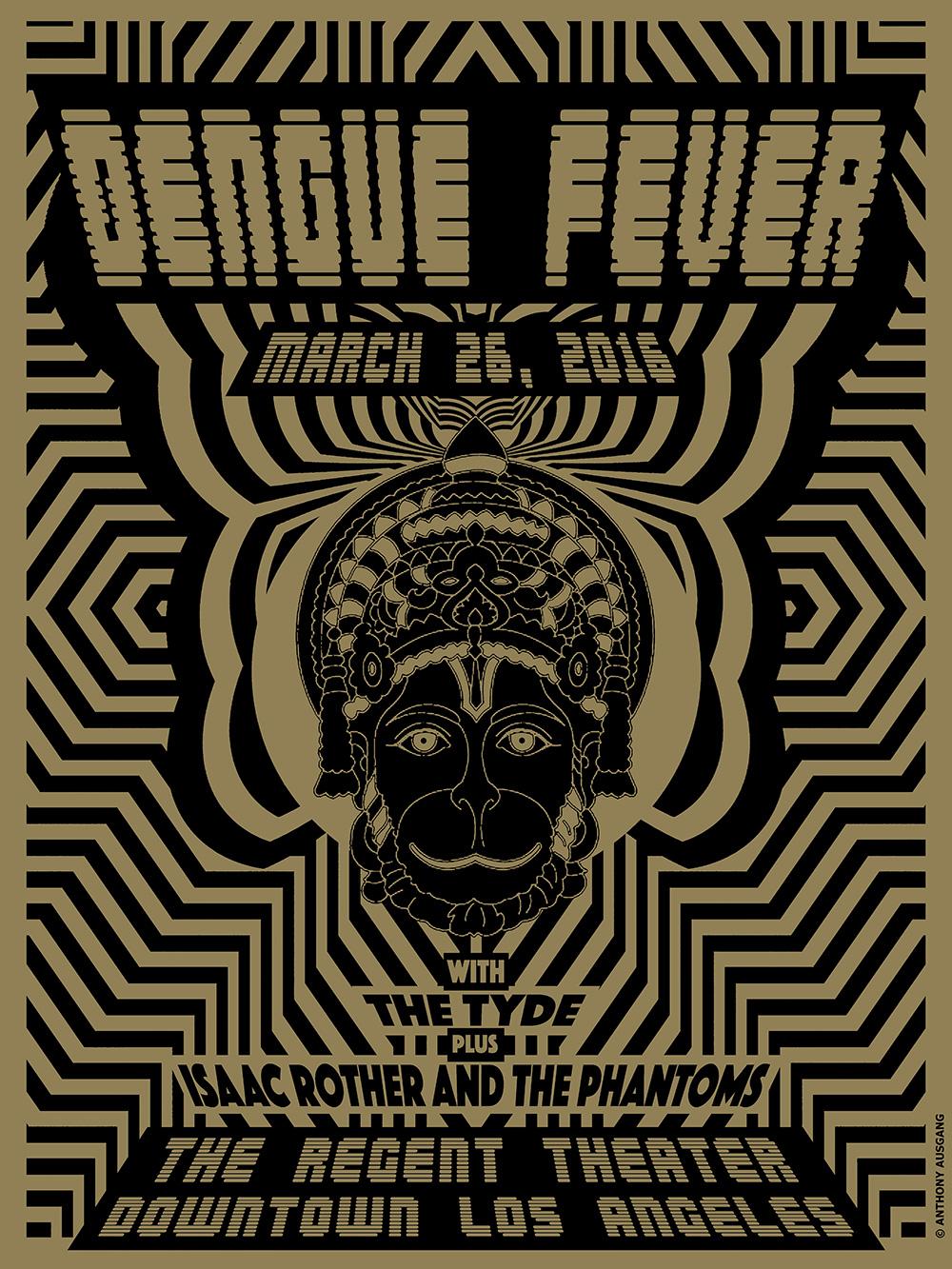 Hanuman Show Poster - Dengue Fever Music