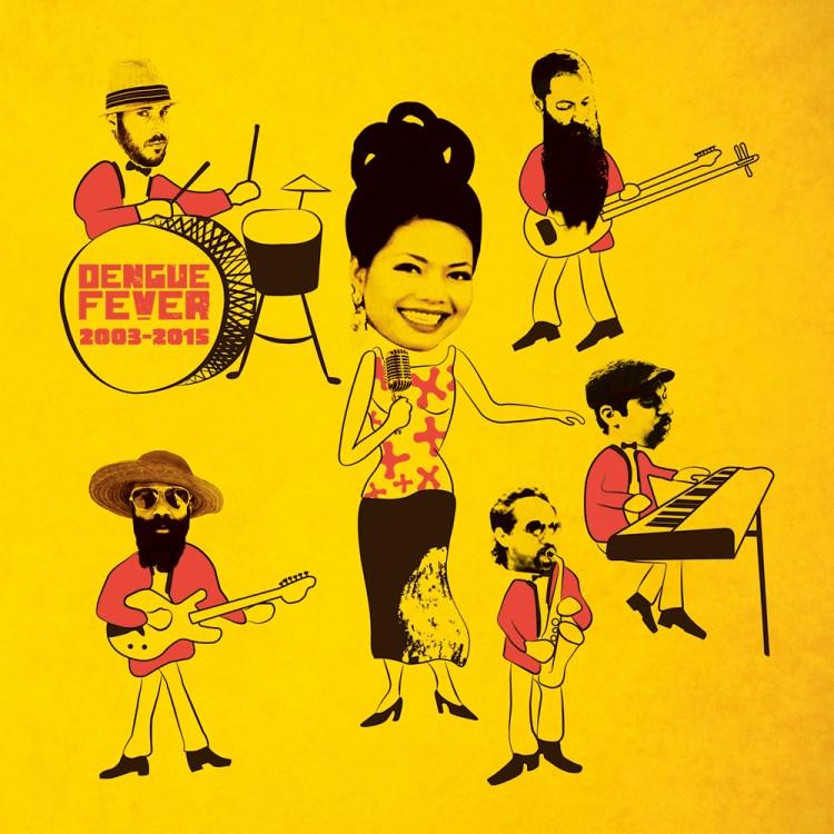 Dengue Fever 2003-2015 Import Vinyl