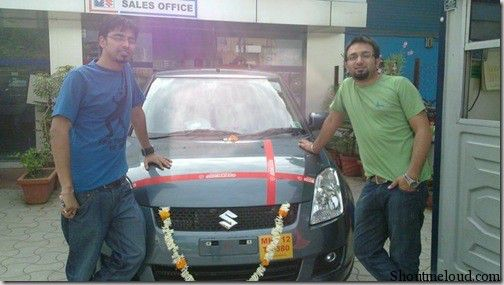 Harsh Agrawal Car