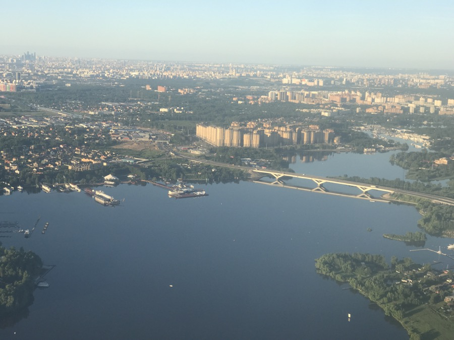 The view of Moscow