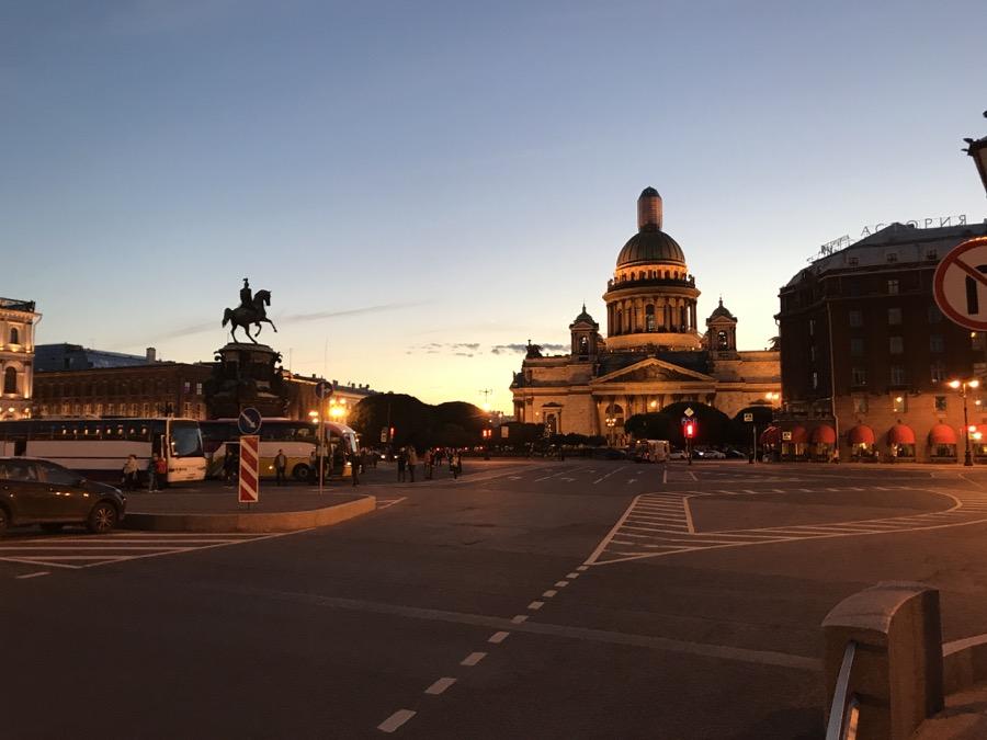 Summer Night in Russia