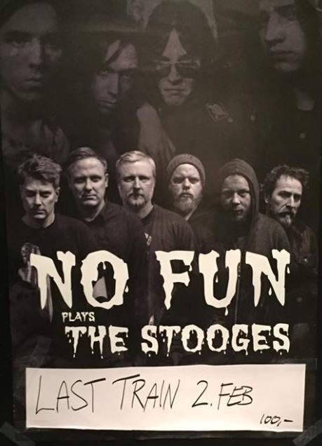 No Fun plays the Stooges