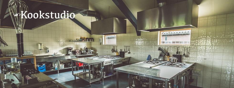 Mooie landelijk gelegen kookstudio.