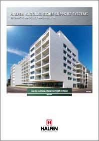 Akmens fasado tvirtinimo sistema HALFEN SUK, UKB Denia Solutions Brosiura