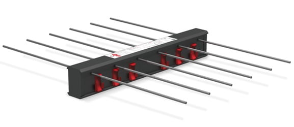 Balkonu armavimo elementas HALFEN HIT Denia Solutions