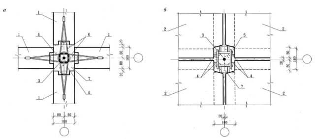 Монтажный узел внутренних панелей с тросовыми петлями