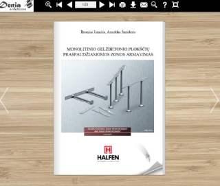 Denia Solutions Monolitino gelzbetonio ploksciu praspaudziamosios zonos armavimas Halfen Mokomoji knyga 2