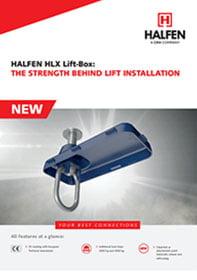 Liftbox HLX Halfen brošiūra