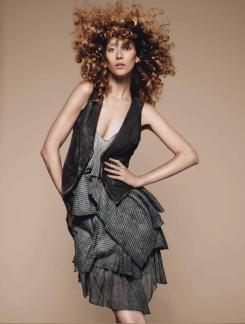 Gypsy Dress and Lyric Waistcoat