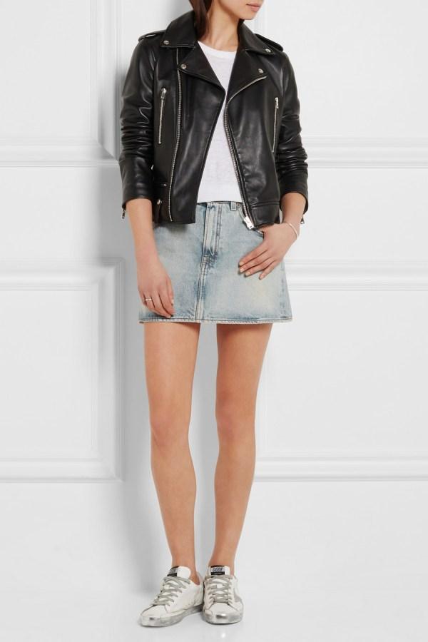 R13 Denim Skirt Main