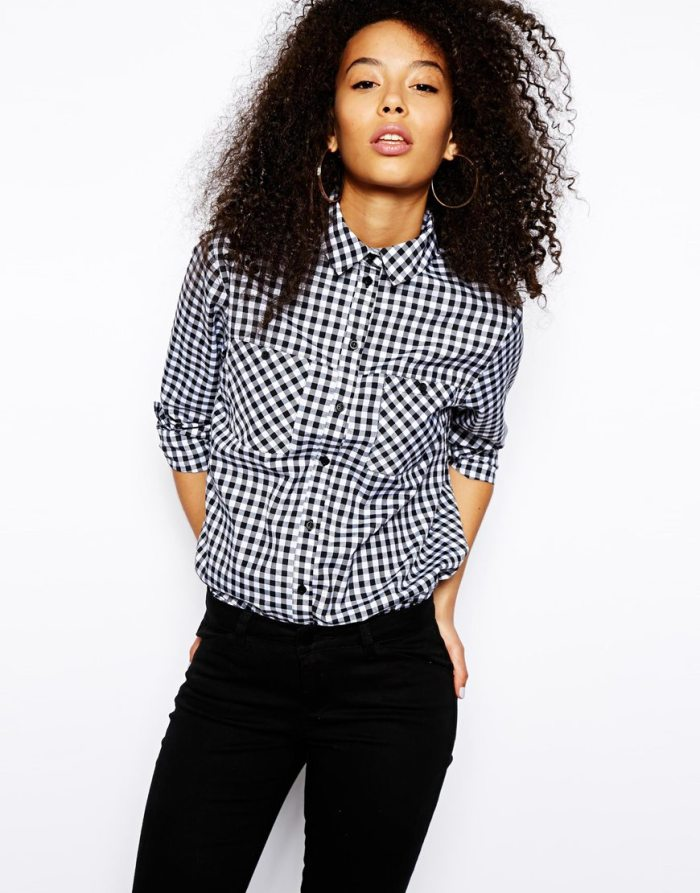 Spring Summer 2015 Wearable Trends Gingham