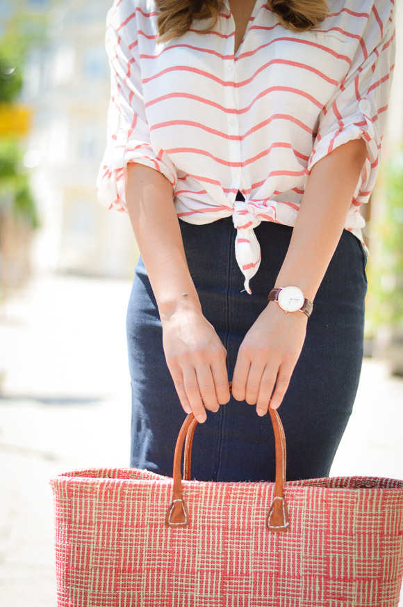 Daniel Wellington Watch Styled by Bulgarian Fashion Blogger Denina Martin