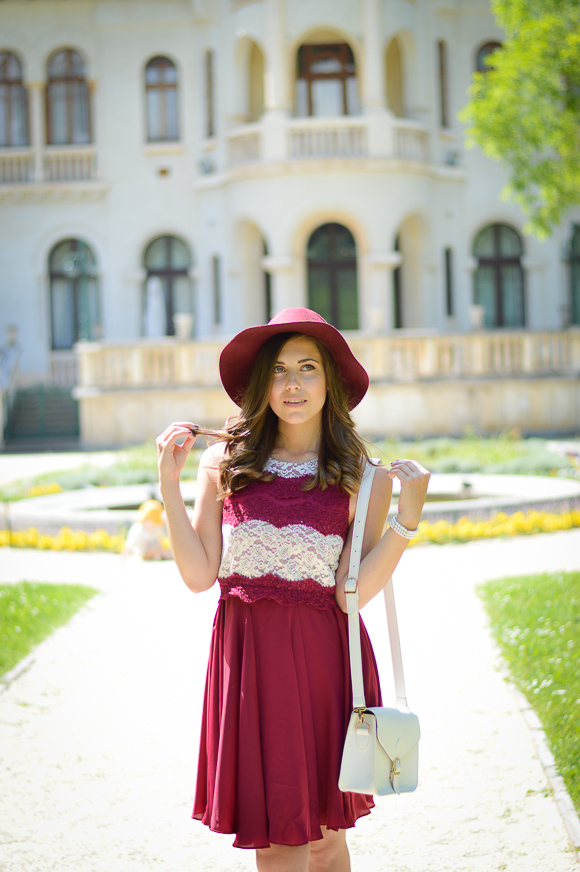 Marsala Dress Vrana Sofia King's Palace Denina Martin