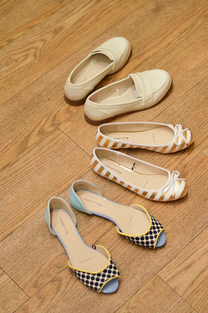 Shoe Hunt for Casual Flats from Debenhams - selected by Denina Martin