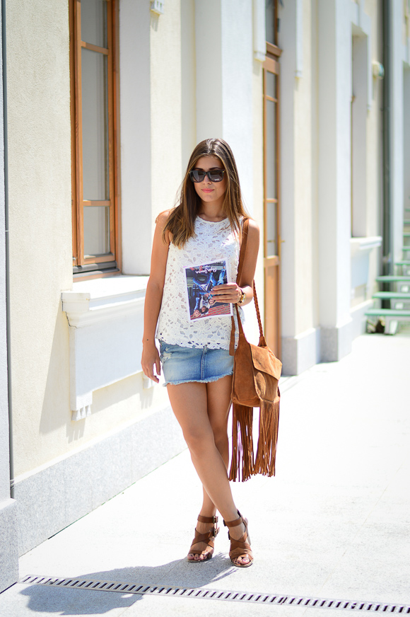 Last Summer Outfit b Denina Martin, Pepe Jeans and Bulgaria Mall