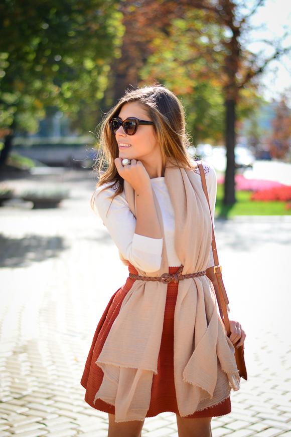 Burned-Orange-HM-Skirt-Autmn-Look-Denina-Martin-4