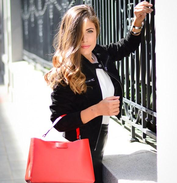 European Fashion Blogger Denina Martin wearing Vero Moda