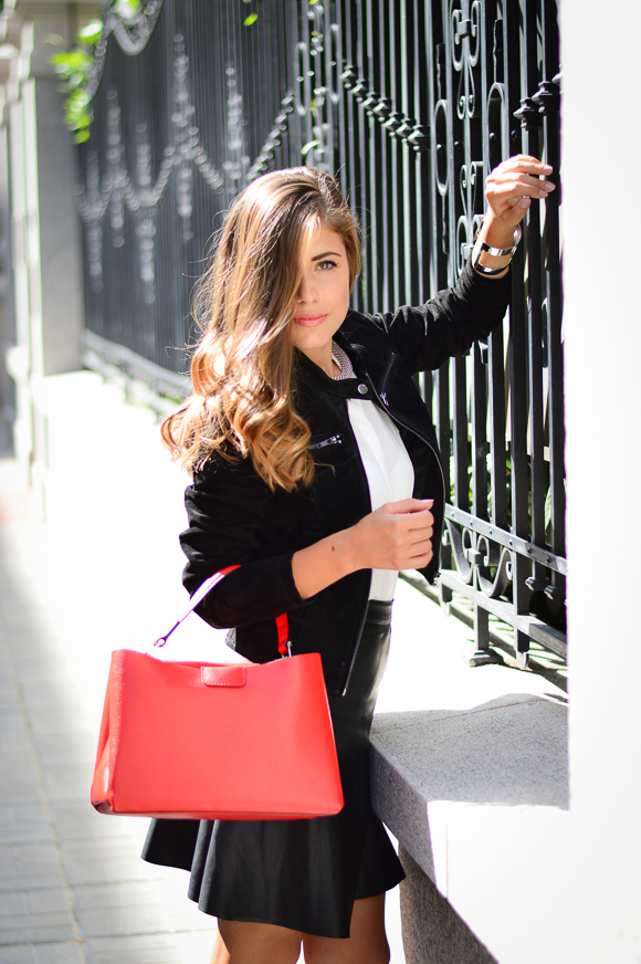 European Fashion Blogger Denina Martin wearing Vero Moda