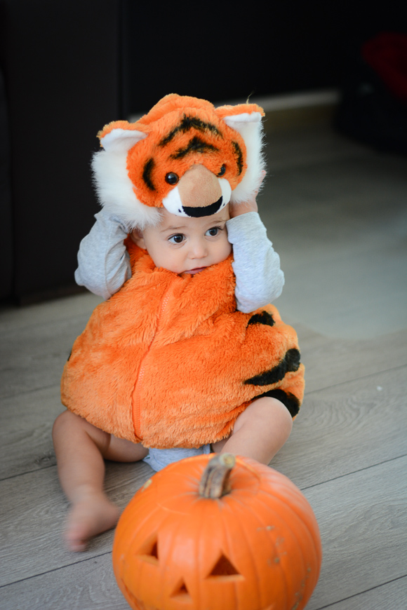 Halloween Recap - Baby Alex's Costume