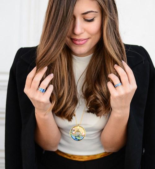 European Fashion Blogger Denina Martin for FREYWILLE - Hommage a Claude Monet Orangerie
