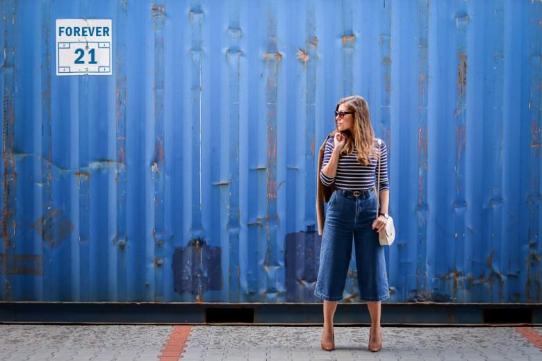 Forever-21-Denim-Culottes-70s-Trend-Blue-Stripes-Denina-Martin-11