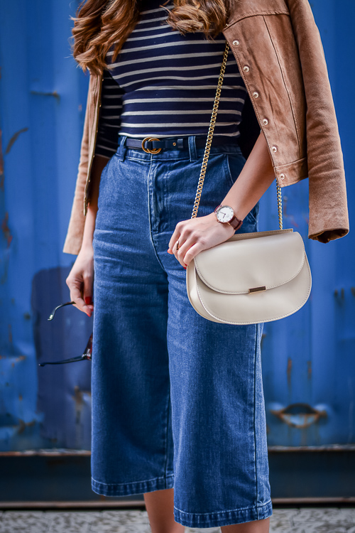 Forever-21-Denim-Culottes-70s-Trend-Blue-Stripes-Denina-Martin-4