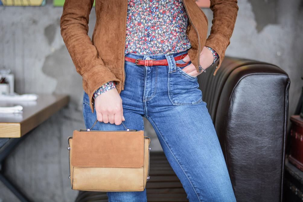 Laidback-Soho-Cafe-Flare-Jeans-Suede-Jacket-Denina-Martin-9