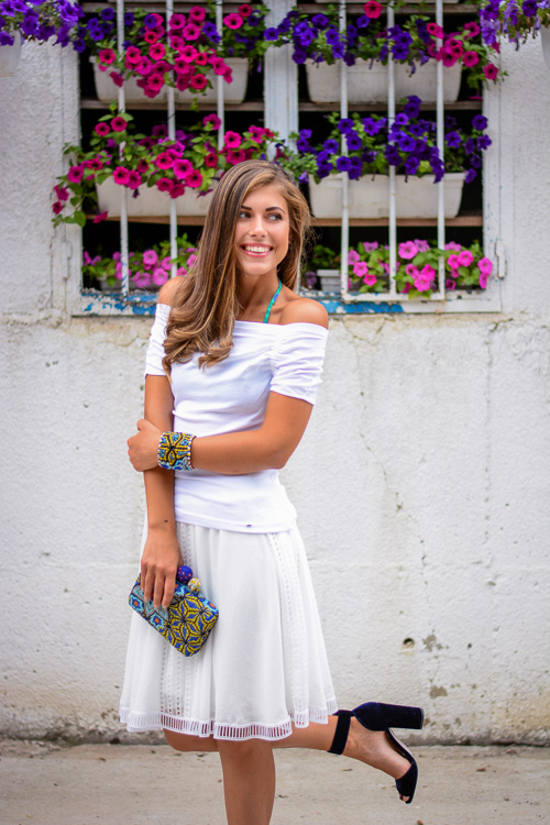 Wearing Week Shop MDL Summer Look Beaded Clutch