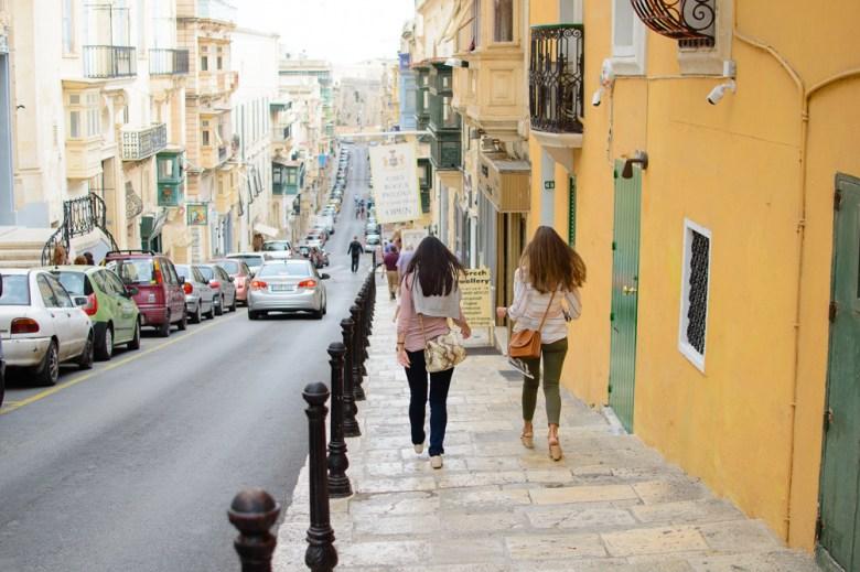 Exploring Malta by walk