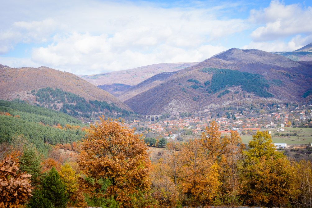 One day trip with Mercedes mountain scenery Bulgaria