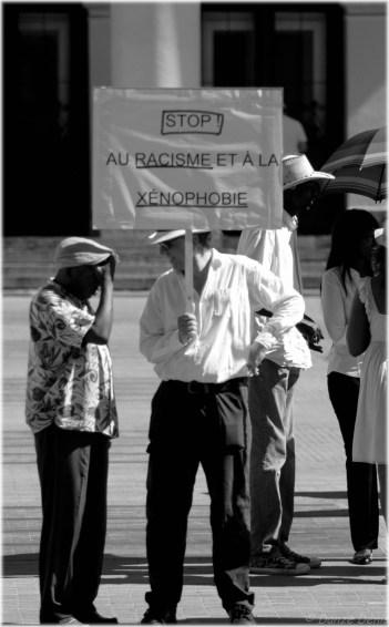 Manifestations contre le racisme et la xénophobie - T'as pigé !