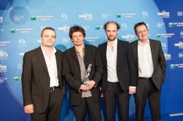 Meilleur son: Emmanuel de Boissieu, Frédéric Demolder, Franco Piscopo et Luc Thomas pour Ernest et Célestine