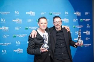 Meilleur film: Ernest et Célestine de Stéphane Aubier, Vincent Patar et Benjamin Renner (produit par Vincent Tavier et Philippe Kauffmann – La Parti Production)
