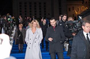 Virginie Efira -Actrice et MAbrouk El Mechri - Acteur