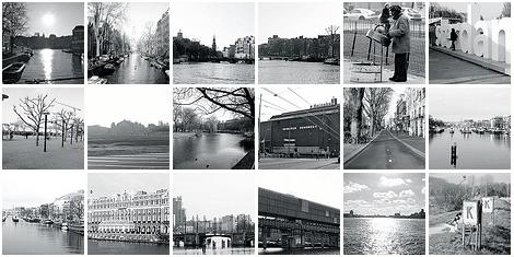 Amsterdam in Zwart Wit