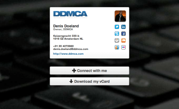 Cardcloud Denis Doeland
