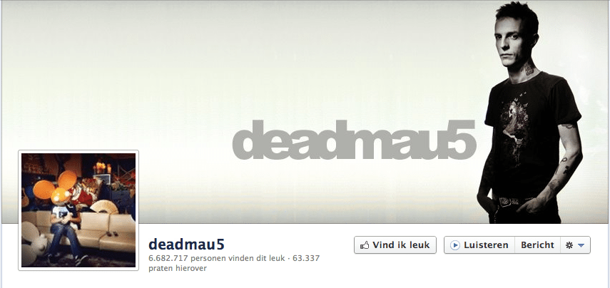 Deadmau5 op Facebook