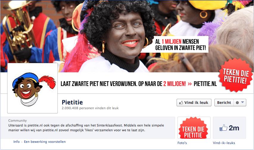 Pietitie Facebookpagina