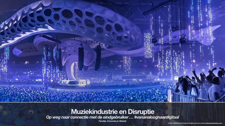 Muziekindustrie en Disruptie