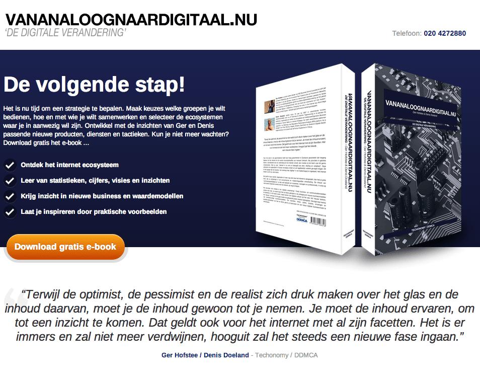 vanAnaloognaarDigitaal.nu door Denis Doeland en Ger Hofstee
