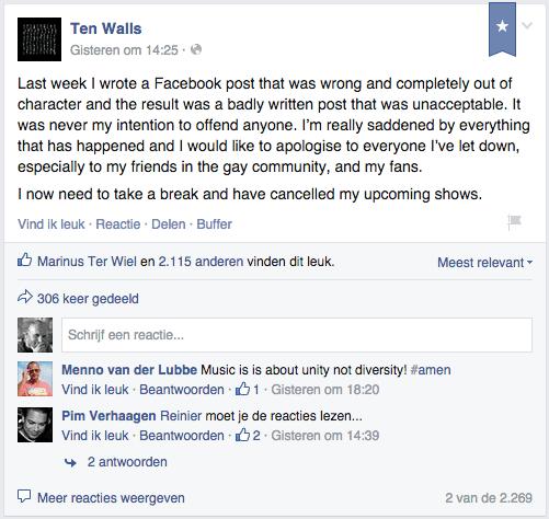 ten walls op facebook
