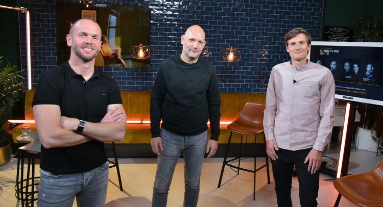 Connecting The Dots 05 - Robert Daverschot, Denis Doeland en Rutger Bremer,
